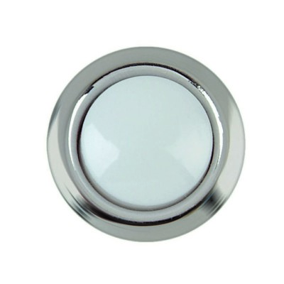 DH1201L Silver Trim Wired Button Replacement Part