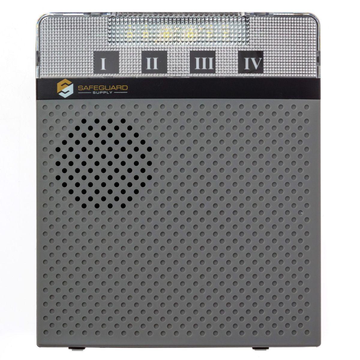 LRA-DCRXA-Wireless Door Chime Receiver with Strobe