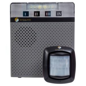 LRA-M1000A Door Chime Receiver and PIR Sensor