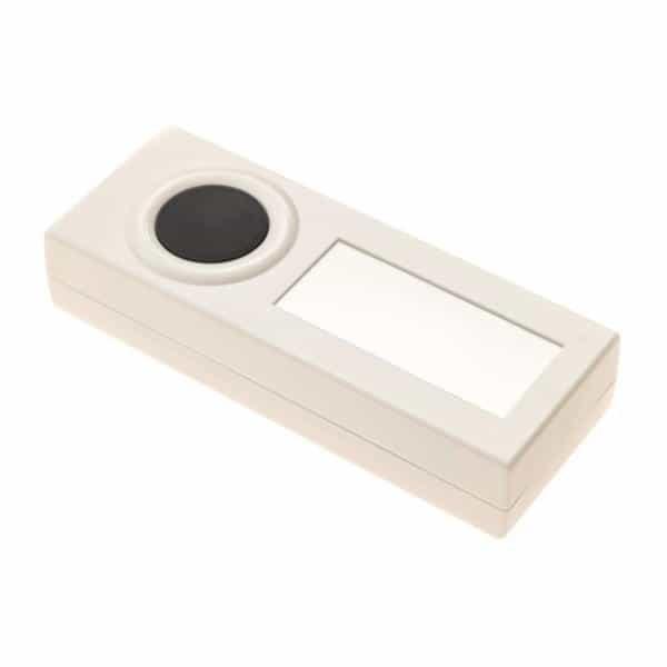 LRA-PBTX-W White Wireless Push Button